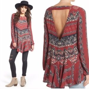 NWOT FREE PEOPLE SMOOTH TALKER TUNIC DRESS